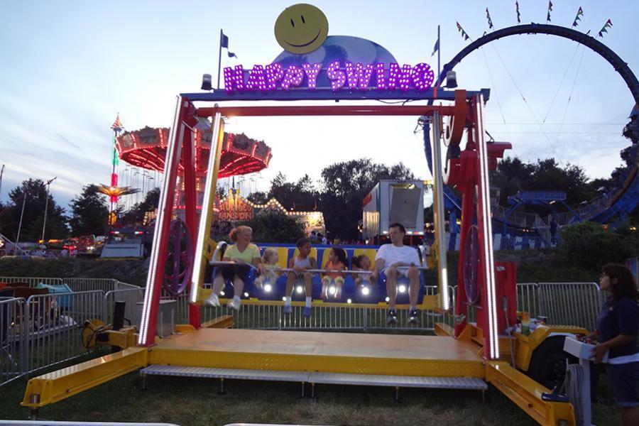 carnival ride carnival game and carnival food vendor