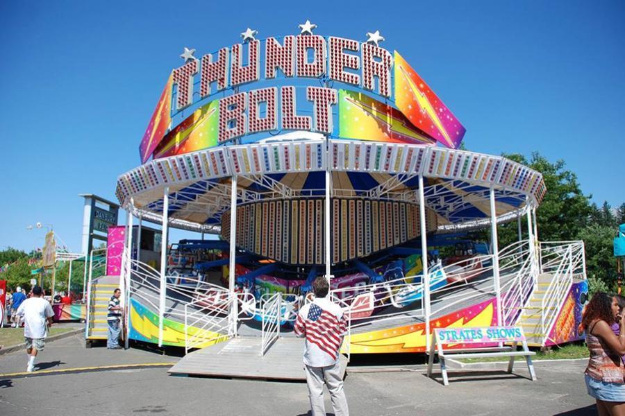 Carnival Ride, Carnival Game, and Carnival Food Vendor